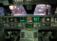 休斯敦lauching航天中心的火箭 库存照片