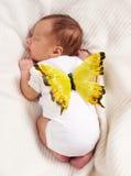 休眠的婴孩 库存图片
