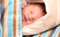 休眠的婴孩 图库摄影
