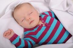 休眠的婴孩 免版税图库摄影