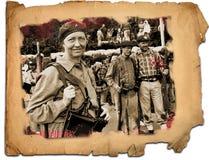 休闲争斗Elgeta 1937西班牙内战13 免版税库存图片