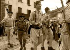 休闲争斗Elgeta 1937西班牙内战1 库存照片