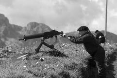 休闲争斗Elgeta 1937西班牙内战11 图库摄影