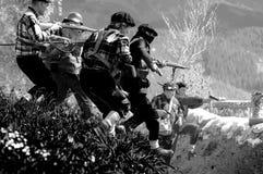 休闲争斗Elgeta 1937西班牙内战12 图库摄影