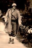 休闲争斗Elgeta 1937西班牙内战22 库存照片