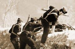 休闲争斗Elgeta 1937西班牙内战9 免版税库存照片
