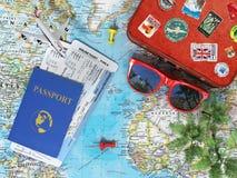 休闲和旅行概念 库存图片
