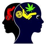 休闲的大麻 免版税图库摄影