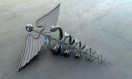众神使者的手杖 免版税图库摄影