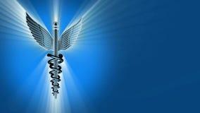 众神使者的手杖3D动画 向量例证