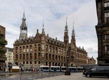 优秀大学毕业生广场商城在阿姆斯特丹 库存照片