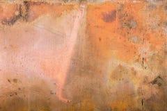 优秀织地不很细样式铜金属背景 库存照片