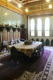 优等的室在穆罕默德阿里宫殿在开罗,埃及 免版税库存图片