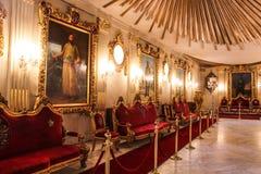 优等的室在穆罕默德阿里宫殿在开罗,埃及 库存图片