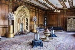 优等的室在穆罕默德阿里宫殿在开罗,埃及 库存照片