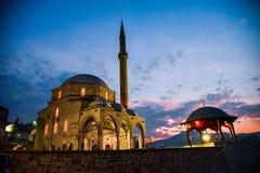 优素福pasina库尔舒姆利亚清真寺在波黑 免版税库存图片