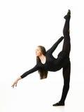 优美的体操运动员 库存图片