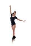 优美的现代女性跳芭蕾舞者的图象 库存照片