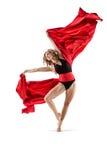 优美的舞蹈演员 库存照片