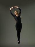 优美的跳舞移动 库存照片