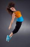 优美芭蕾舞女演员跳舞 图库摄影