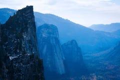 优胜美地国家公园的谷 库存照片
