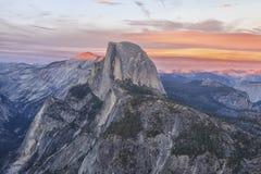 优胜美地国家公园的风景 免版税库存照片