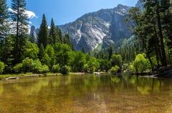 优胜美地国家公园-湖 库存照片