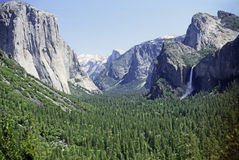 优胜美地国家公园 免版税库存图片