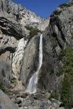 优胜美地瀑布加利福尼亚美国 库存图片