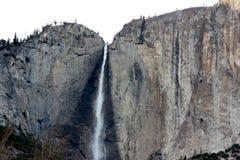 优胜美地瀑布,国民,公园,加利福尼亚 免版税库存照片