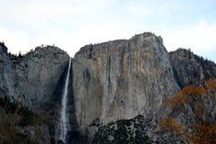 优胜美地瀑布,国民,公园,加利福尼亚 图库摄影