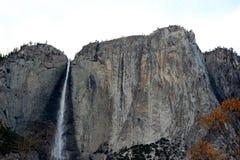 优胜美地瀑布,国民,公园,加利福尼亚 免版税库存图片