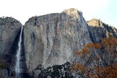 优胜美地瀑布,国民,公园,加利福尼亚 库存照片