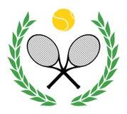 优胜者网球 库存图片