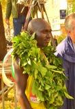 优胜者索非亚马拉松Kipchumba冠 免版税库存图片