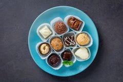 优良巧克力 免版税库存照片