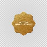 优质质量金黄标签 金标志 发光,豪华徽章 最佳的选择,价格 库存例证