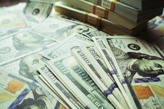 优质货币流通量的照片 免版税库存图片