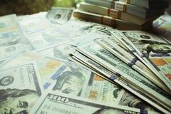 优质货币流通量的照片 免版税库存照片