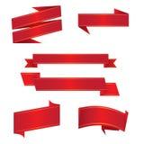 优质纸丝带 免版税库存图片