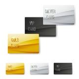 优质顾客成员波动图式卡片 图库摄影