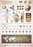 优质infographics重要资料收藏 库存图片