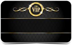 优质vip卡片 库存例证