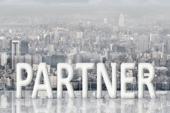 伙伴的概念 免版税库存照片