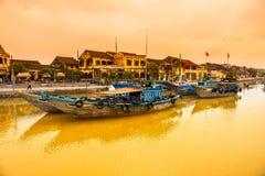 会安市。越南 免版税库存照片