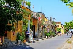 会安市古镇,越南联合国科教文组织世界遗产名录 图库摄影