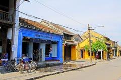 会安市古镇,越南联合国科教文组织世界遗产名录 库存照片