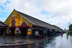 会安市市场 会安市历史镇,越南看法  免版税库存照片
