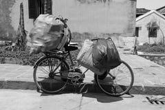 会安市自行车 免版税库存照片